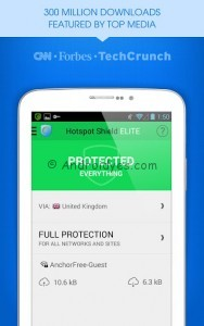 Hotspot Shield ELITE VPN v3.5 Apk