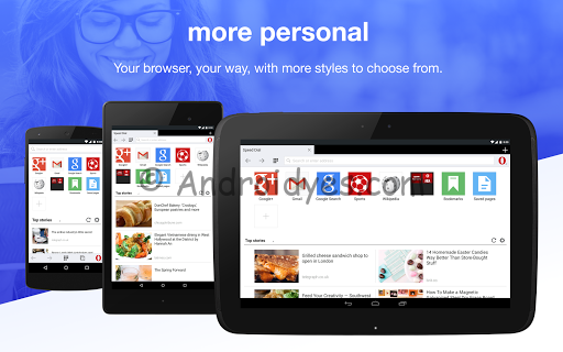 Download Opera Mini beta – Fast web browser v9.0.1829.91180 Apk - Androidyes.com