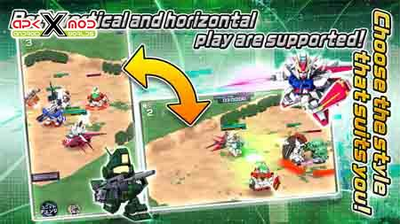 SD GUNDAM STRIKERS android apk apps hack mod pics 2