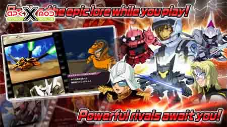 SD GUNDAM STRIKERS android apk apps hack mod pics 4