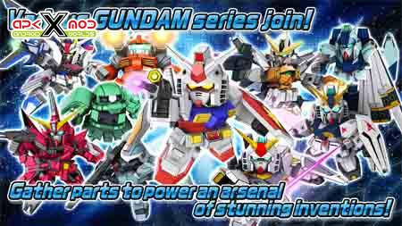 SD GUNDAM STRIKERS android apk apps hack mod pics 5