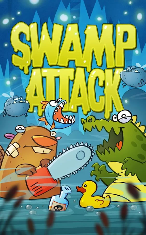 Swamp-Attack-Android-resim1