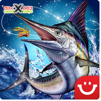Ace Fishing Paradise Blue apkxmod-com