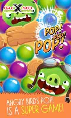 Angry Birds POP Bubble Shooter android apk apps hack mod pics 4