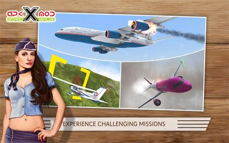Take Off The Flight Simulator hack-mod-android-apk-apps-pics 3