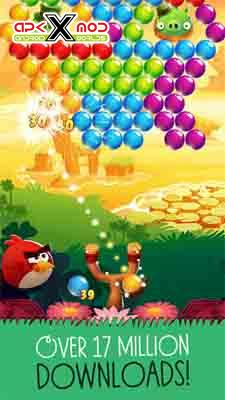 Angry Birds POP Bubble Shooter android apk apps hack mod pics 1