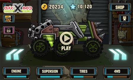 Zombie Road Racing hack-mod-androd-apk-pics-3