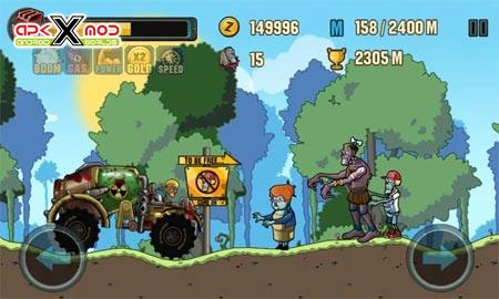 Zombie Road Racing hack-mod-androd-apk-pics-1