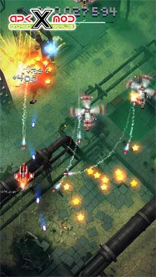 Sky Force Reloaded hack mod android apk apps pics 1