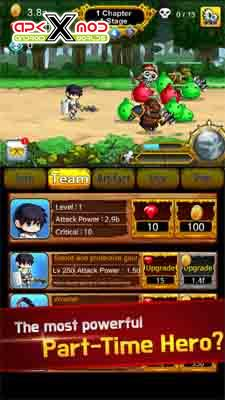 Part Time HeroMonster Mayham hack mod android apk apps pics 2