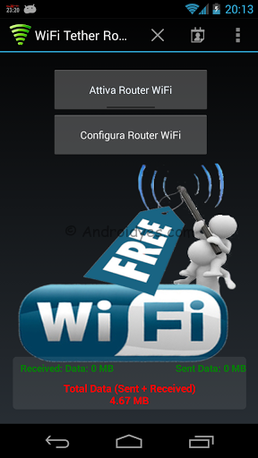 WiFi Tether Router v6.0.8 build 147 Apk